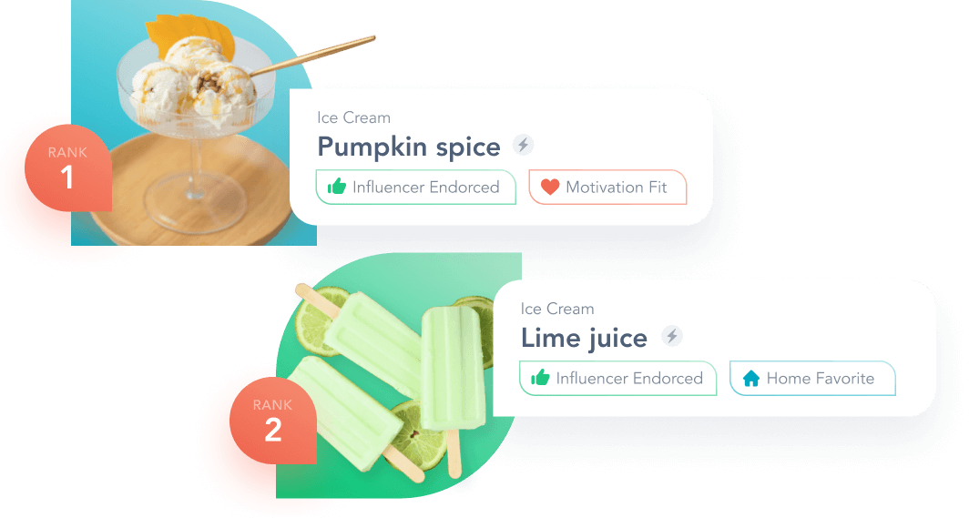 Validate flavor ideas, or discover new ones