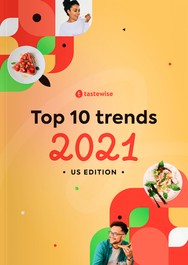 The Tastewise 2021 US Trend Report Cover