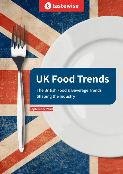 What ingredients, dishes, and motivations are driving the UK's food & beverage scene in 2020?