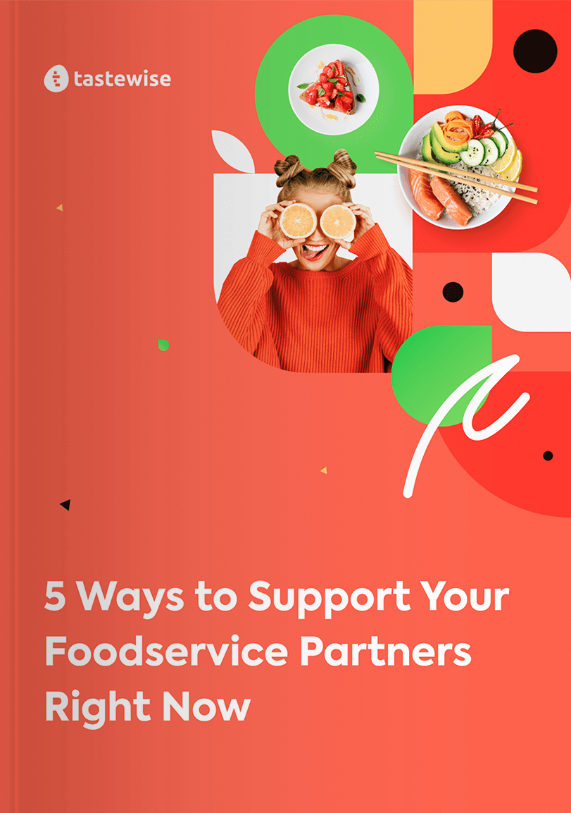 5 Ways To Support Your Foodservice Partners With Data - Right Now Cover