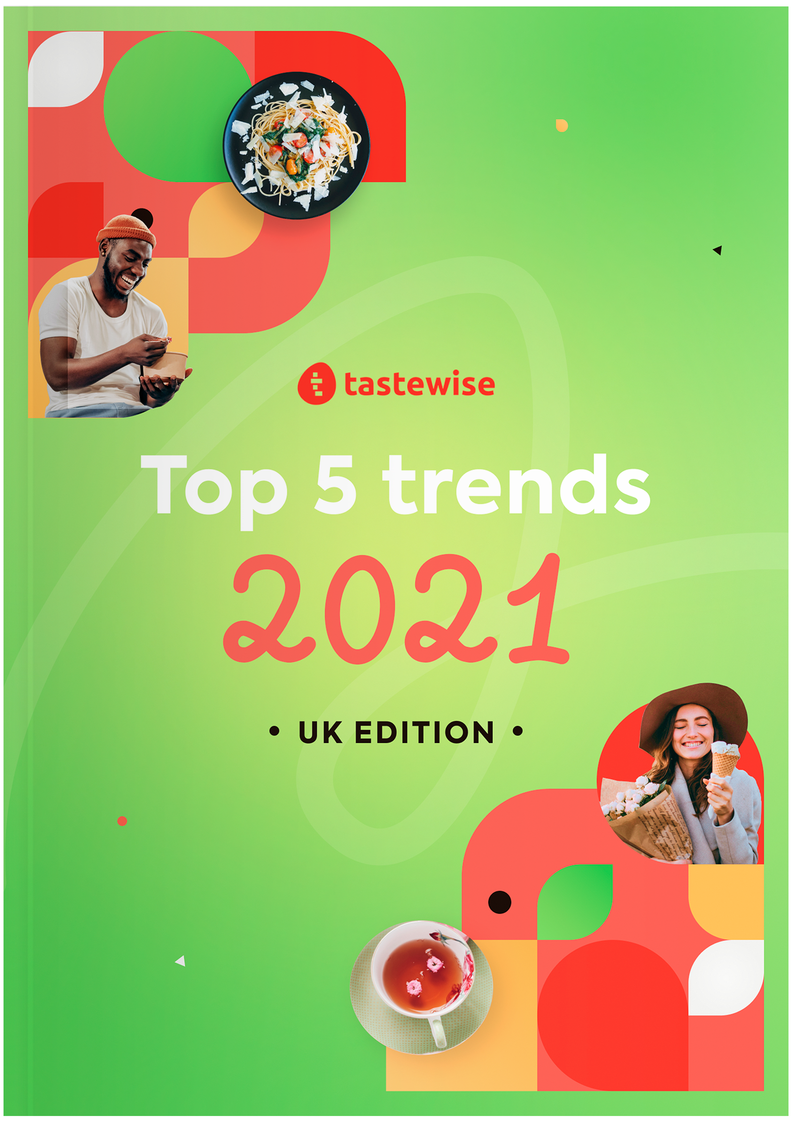 The Tastewise 2021 UK Trend Report Cover