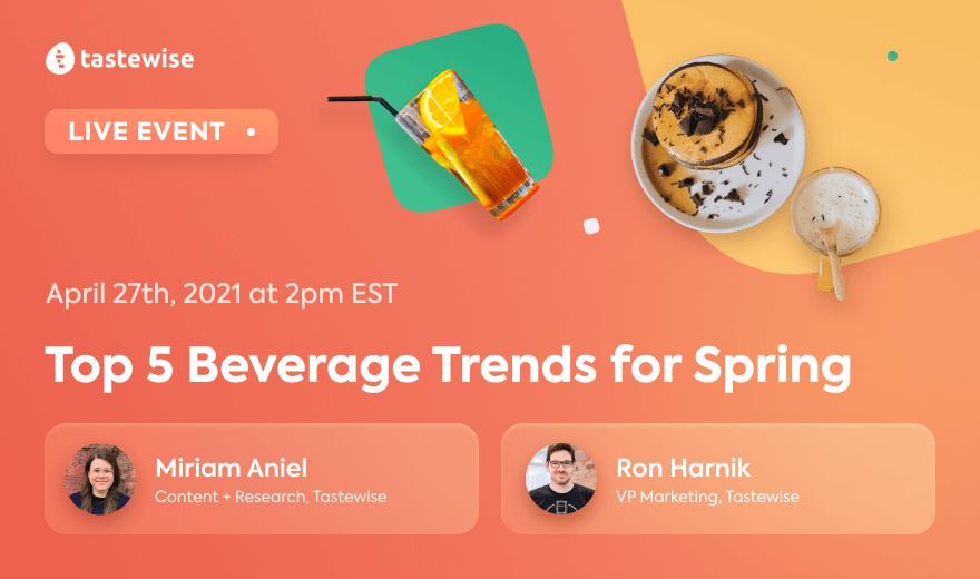 Top 5 Beverage Trends for Spring